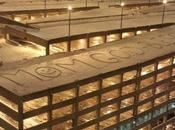 écrit message géant dans neige pour mère atteinte d'un cancer