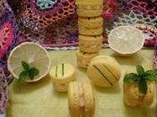 Macarons Citron-Menthe