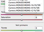 Logiciel Camera adopte simulations films Fujifilm