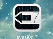 Jailbreak Evasi0n passe version 1.0.7