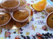 Muffins l'orange pépites chocolat.