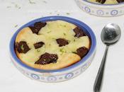 Clafoutis chocolat citron vert