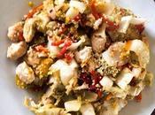 Méli-Mélo céréales chou chinois, poivrons dinde