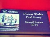 Distant Worlds Final Fantasy Mars 2014 Paris Palais Congrès l'après-midi...