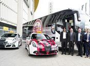 Retour football Alfa Romeo #frankfurt