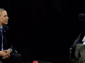 Quand Barack Obama interviewé Zach Galifianakis