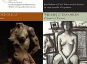 Galerie Jane ROBERTS exposition Ettore GRECO William UTERMOHLEN