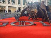 Game Thrones: sculpture dragon pour saison