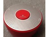 Test Enceinte Novodio Shower Buetooth waterproof rouge