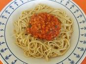 Sauce tomate lentilles corail pour spaghettis (facile économique)