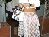 Rihanna quitte restaurant préféré Giorgio Baldi Santa Monica 20.03.2014