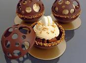 Brownies Chantilly caramel