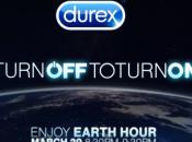 Durex soutient Earth Hour avec cette faire pendant heure dans l'obscurité