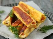 Rouleaux pain perdu saumon citron aneth