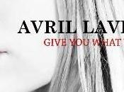 nouveau single d'Avril Lavigne, Give What Like.