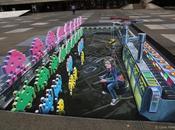 Street Space Invaders