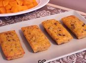 Petits cakes fondants Potiron vanillé Tofu soyeux Eclats chocolat