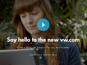 site Volkswagen fait peau neuve (VW.com)