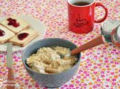 Porridge pomme-sirop d'érable