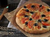 Pizza Tomates Mozzarella Tout Simplement