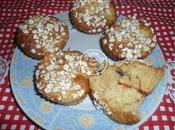 Muffins pommes flocons d'avoine