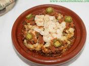 Tajine chou-fleur crevettes