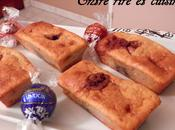 Mini-cakes compote, bananes boules chocolat
