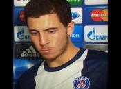 Chelsea pied d'Eden Hazard
