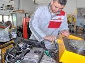 Inauguration Oran d'un atelier formation industrie automobile