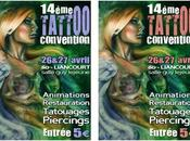 convention tatouage, piercing 2014