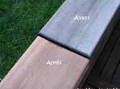 Rénover facilement meuble d'extérieurs bois exotiques teck