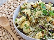 idee recette facile chou-fleur chaude Salade couscous marocain