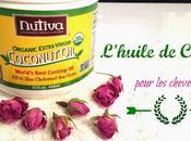 L'huile coconut, pour cheveux pleine santé