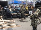 UKRAINE. Insurrection: est-ce début guerre civile Donetsk