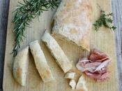 Pain lait, parmesan herbes aromatiques