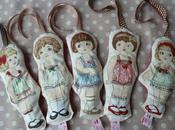 poupées carrés lavande