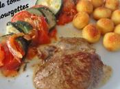 Filet d'agneau Tian tomates courgettes