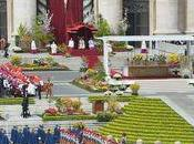 place Saint Pierre fleurs pour Pâques