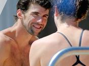 Phelps, heureux comme poisson dans l'eau!