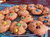 Cookies Beurre cacahuètes M&M's