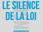 """""""Le silence loi"""" Cédric Parren"""