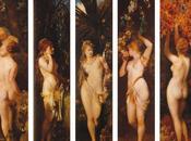 cinq sens Hans Makart (1840-1884)