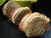 Médaillons porc fromage lard