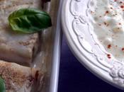 Poisson basilic, sauce chèvre
