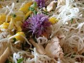 recette Thaï style poulet Saint Jacques
