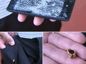 Nokia Lumia sauve d'un policier