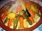 Couscous marocai sept légumes