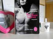 Entre murs d'une bibliothèque Yves Saint Laurent, biographie Laurence Benaïm