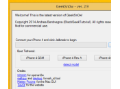 Tutoriel Jailbreak 7.1.1 iPhone semi-tethered avec GeekSn0w