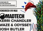 Madtech: Kerri Chandler, Waze Odyssey, Josh Butler Showcase (5*2 places gagner)